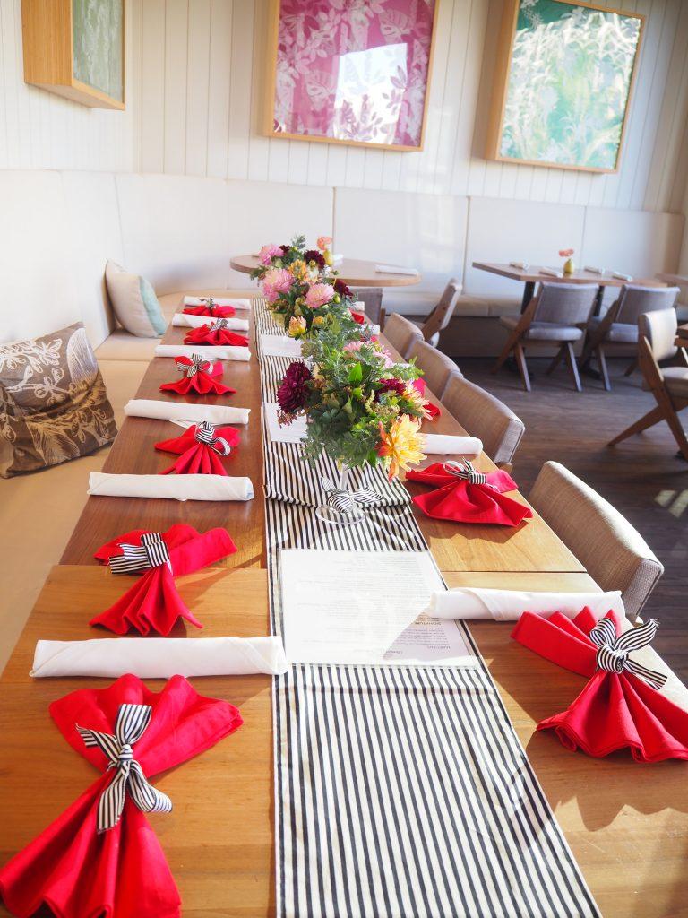 ハワイ パーティー テーブルコーディネート