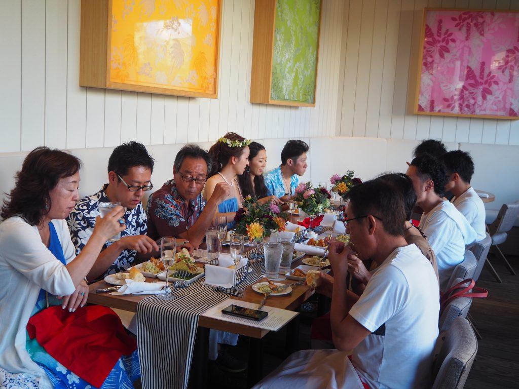 ハワイ ご飯 美味しい パーティー