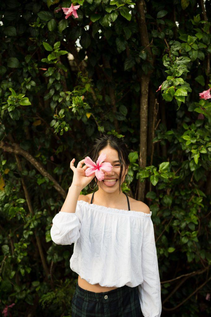 ハワイ ハイビスカス 花