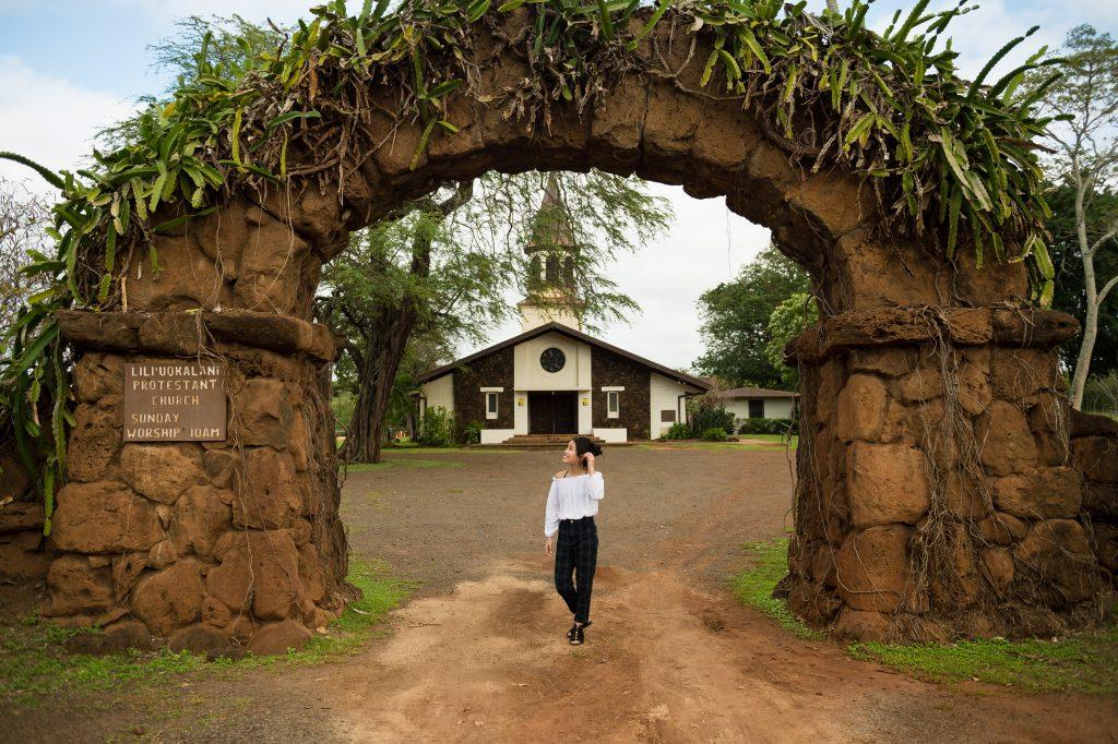 ハワイ アーチ 挙式 撮影