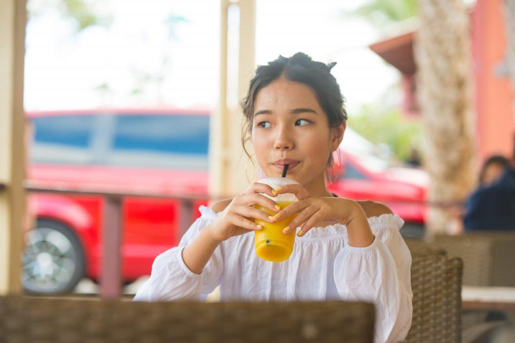 ハワイ オレンジジュース 飲み物 美味しい
