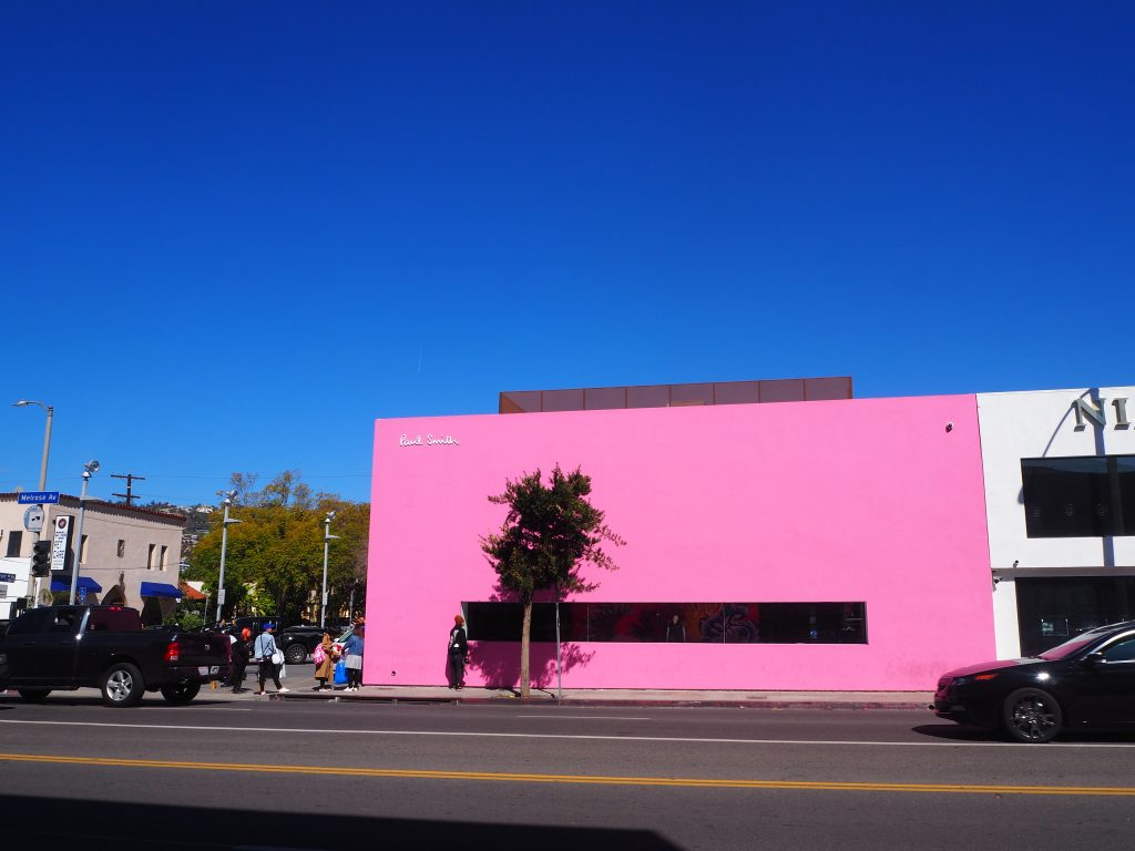 ピンク 壁 ロサンゼルス
