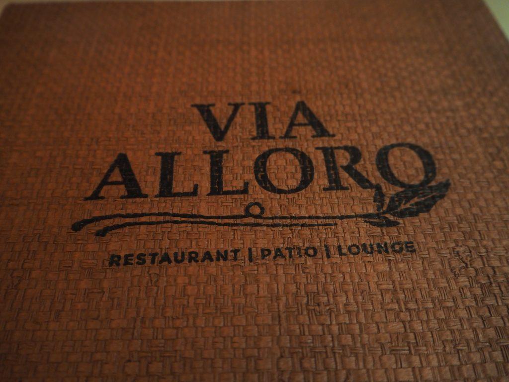 ロサンゼルス イタリアン Via Alloro