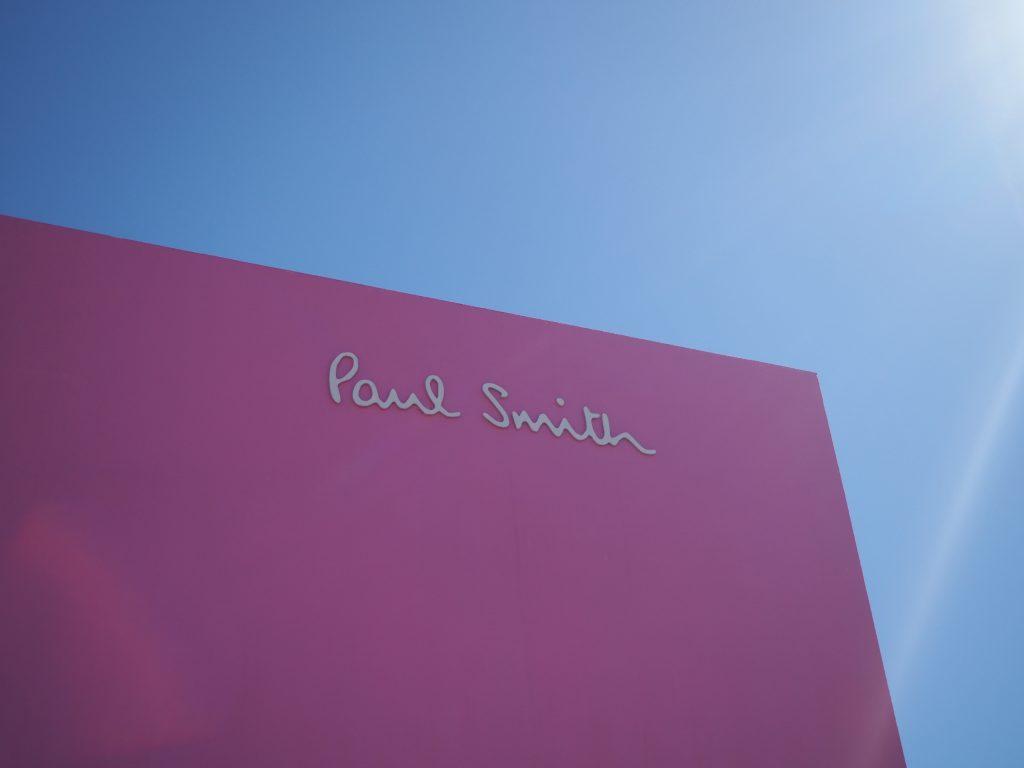 ポールスミス ロサンゼルス ピンク 壁