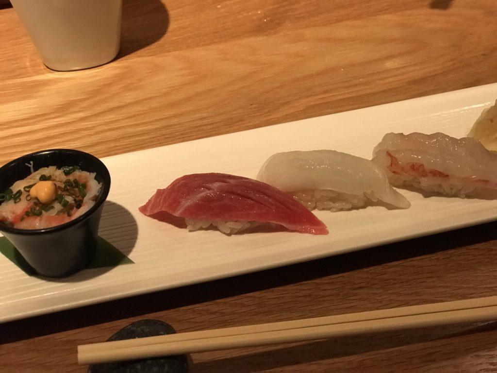 ハワイ NOBU ノブ 寿司 グルメ