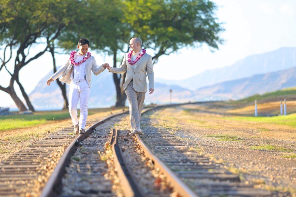 LGBT ゲイカップル 撮影 ハワイ