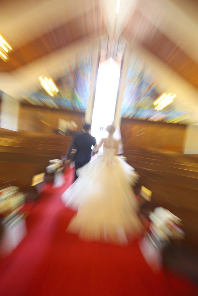 ハワイ挙式 教会 チャペル 撮影