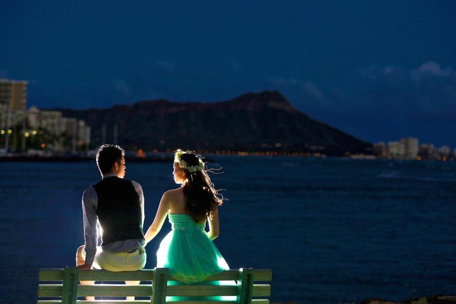 夜景撮影 ハワイ アフロートハワイ