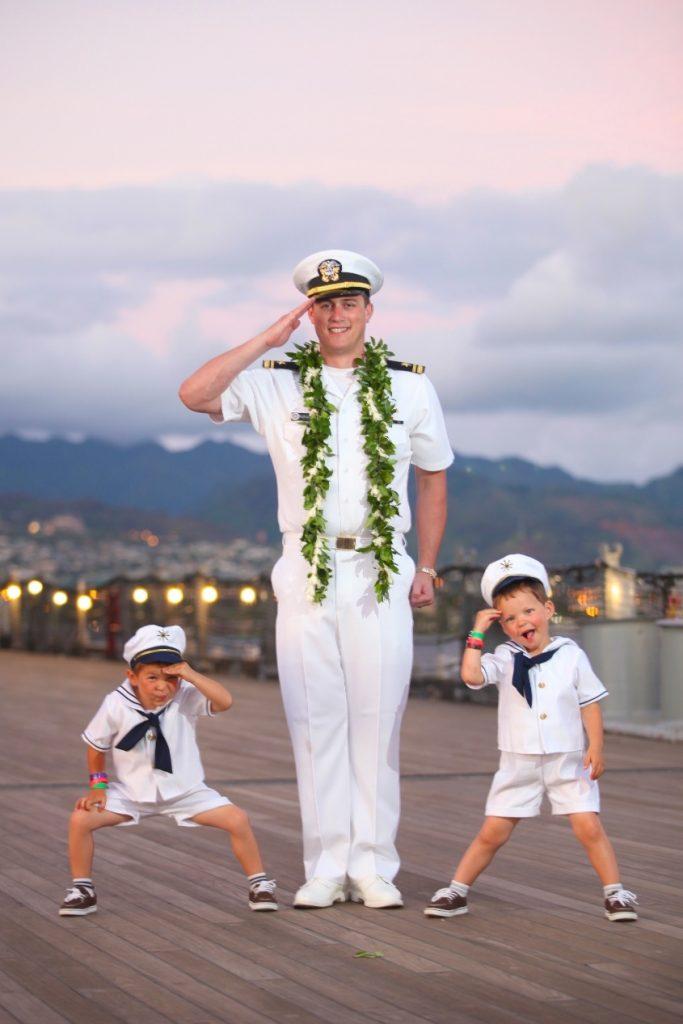 ハワイ 海兵隊 撮影