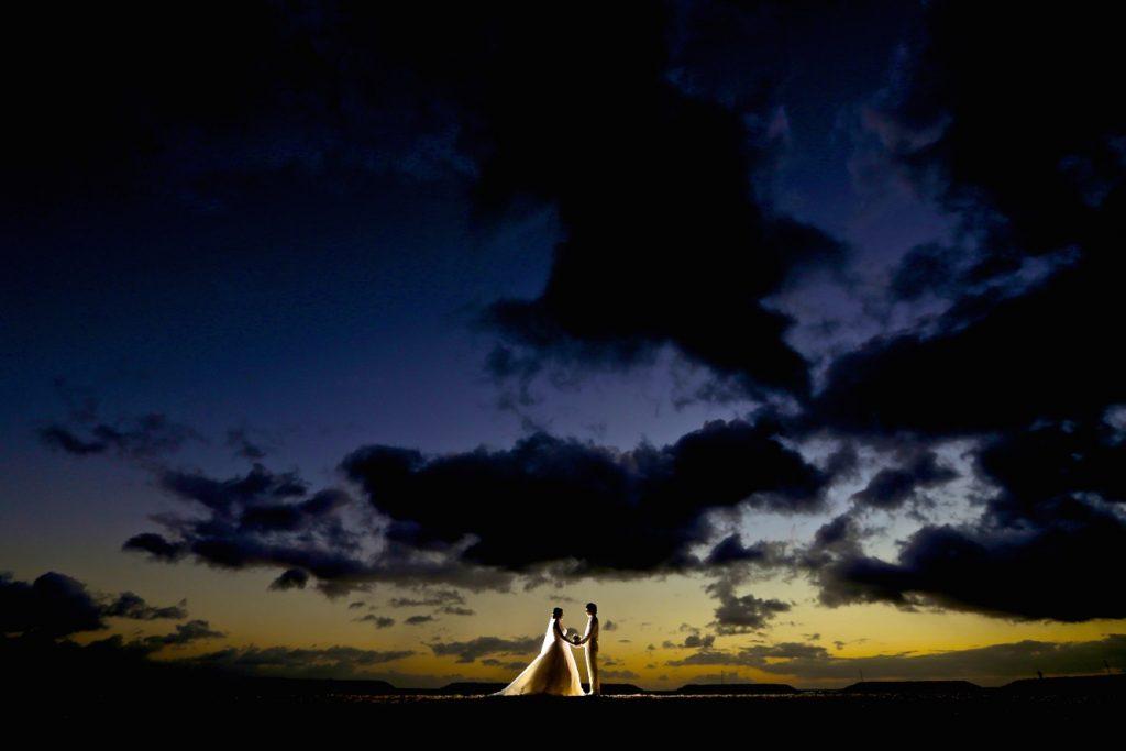 ハワイ サンセット撮影 素敵
