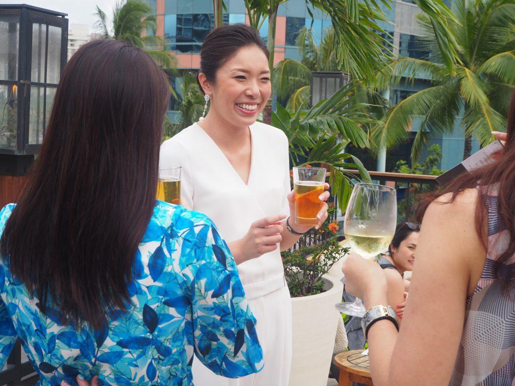 ハワイ挙式 レセプションパーティー 流れ
