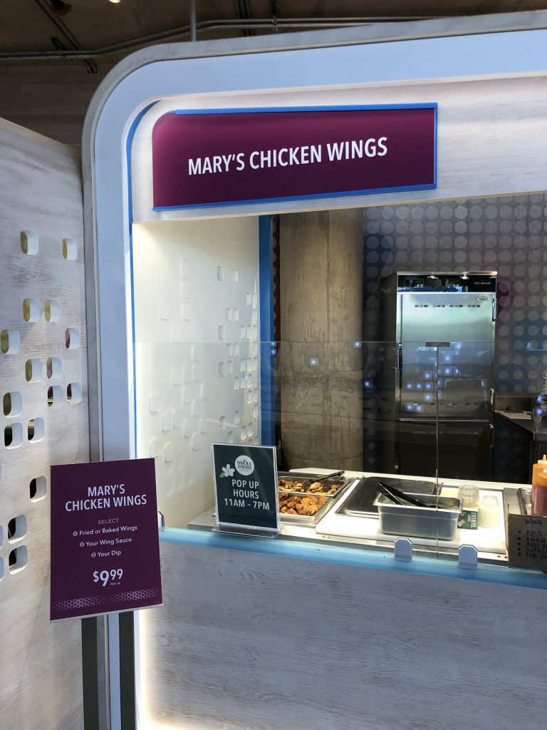 ハワイ mary's chicken wings
