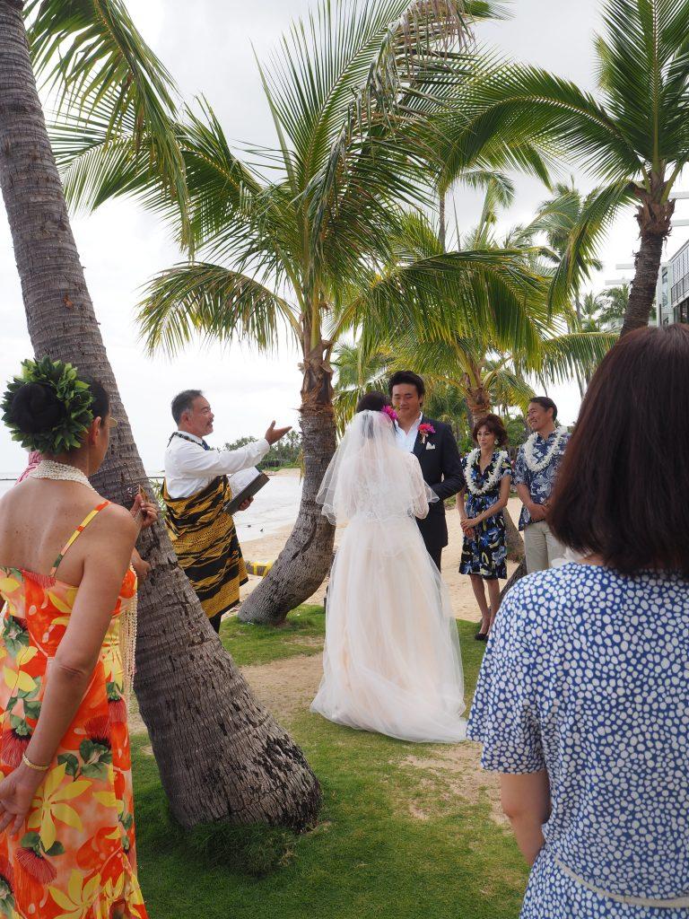 カハラビーチ ワイアラエビーチ 挙式