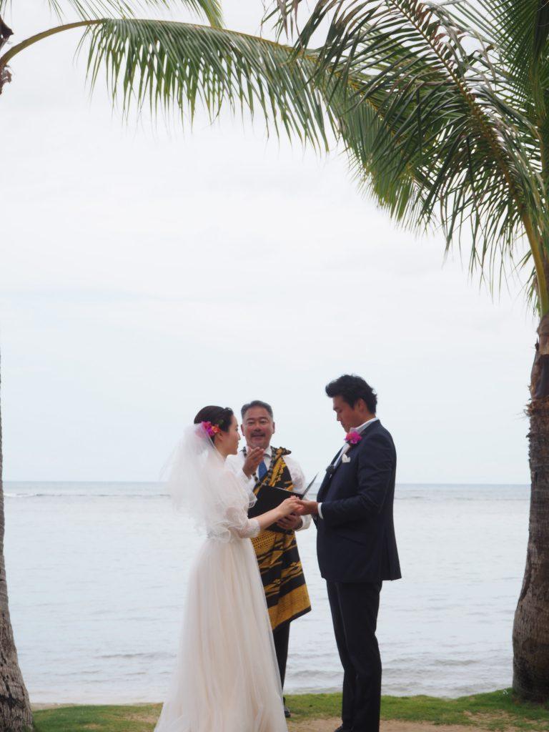 ハワイ 結婚式 カハラホテル