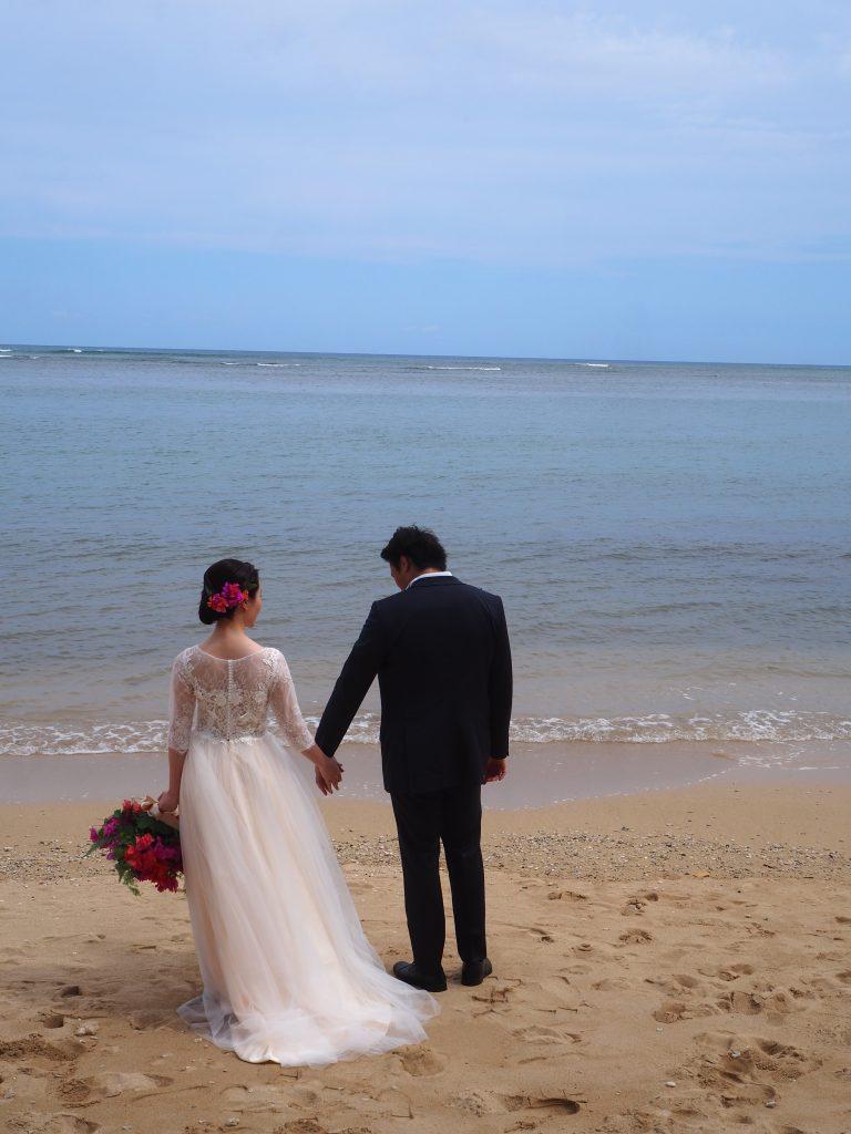 ハワイ ビーチフォト 前撮り