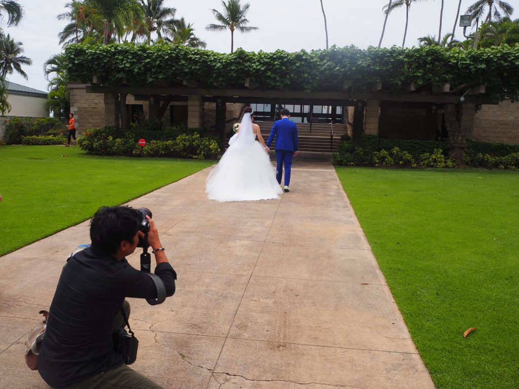 ハワイ キャルバリーバイザシー 挙式