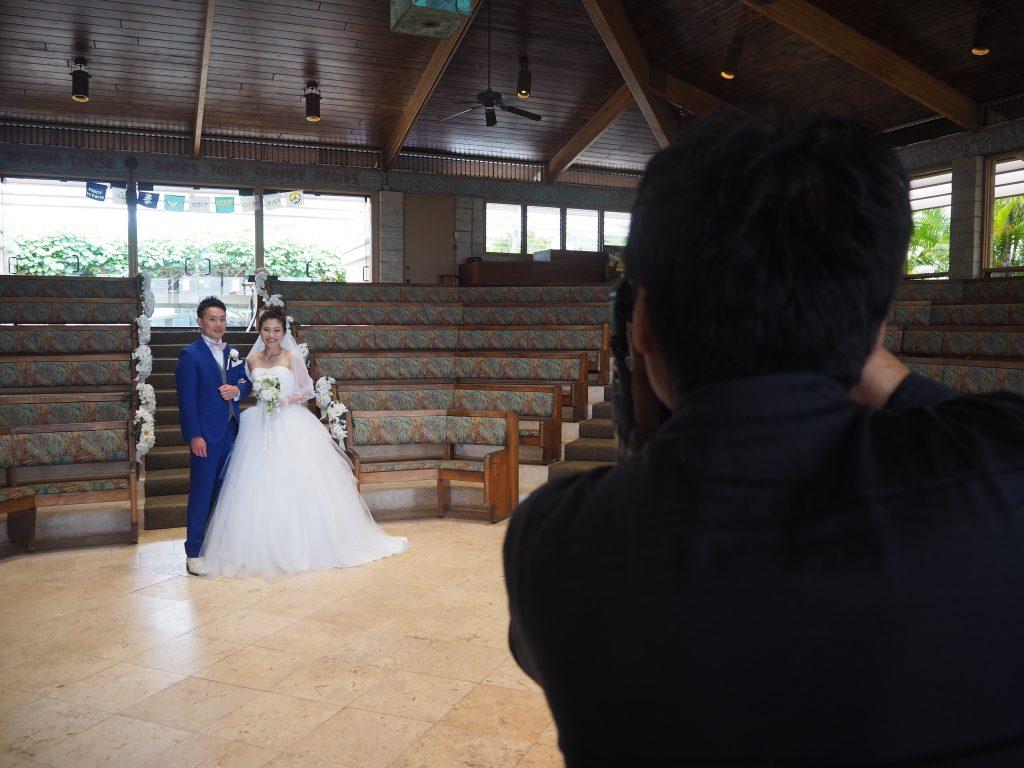 ハワイ挙式 撮影 カメラマン