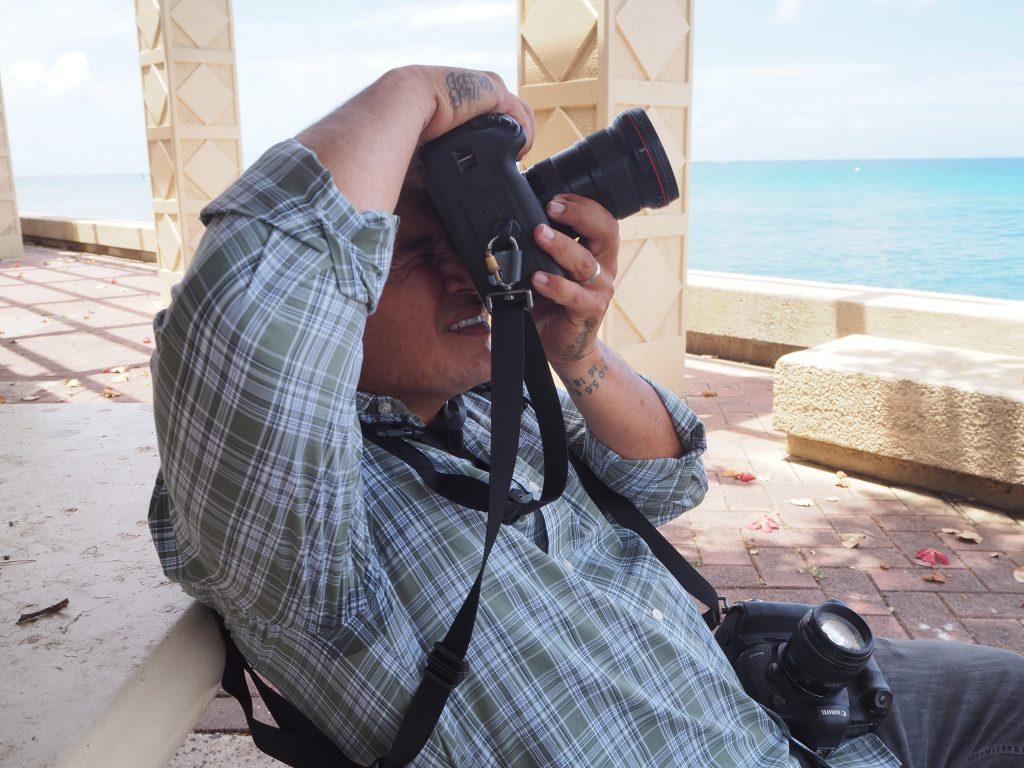 ハワイ オアフ島 カメラマン