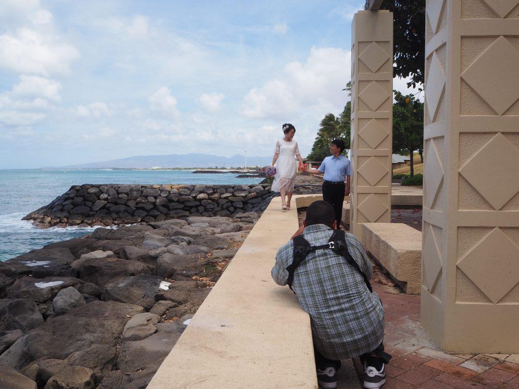 ハワイ ビーチ撮影 海外風