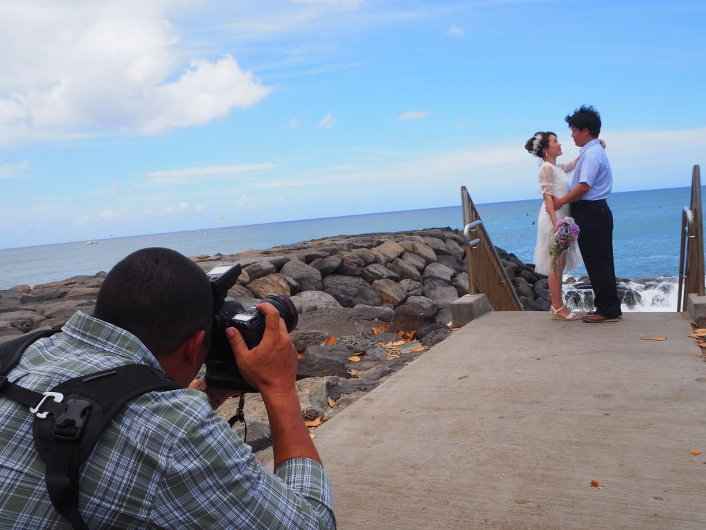 ハワイ ロマンチック 撮影