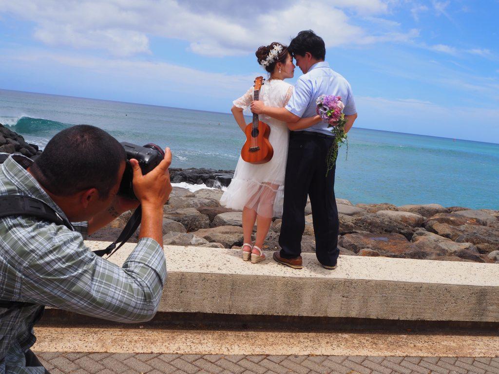 ハワイ 後撮り 撮影 ハネムーン