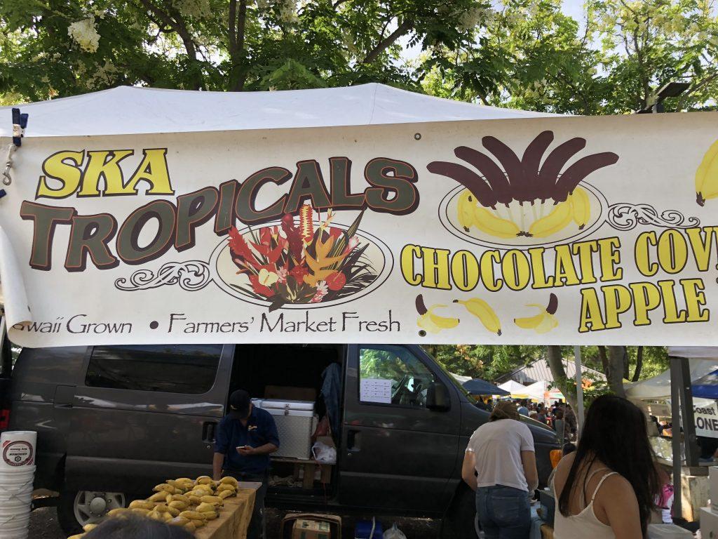 ハワイ チョコバナナ 美味しい