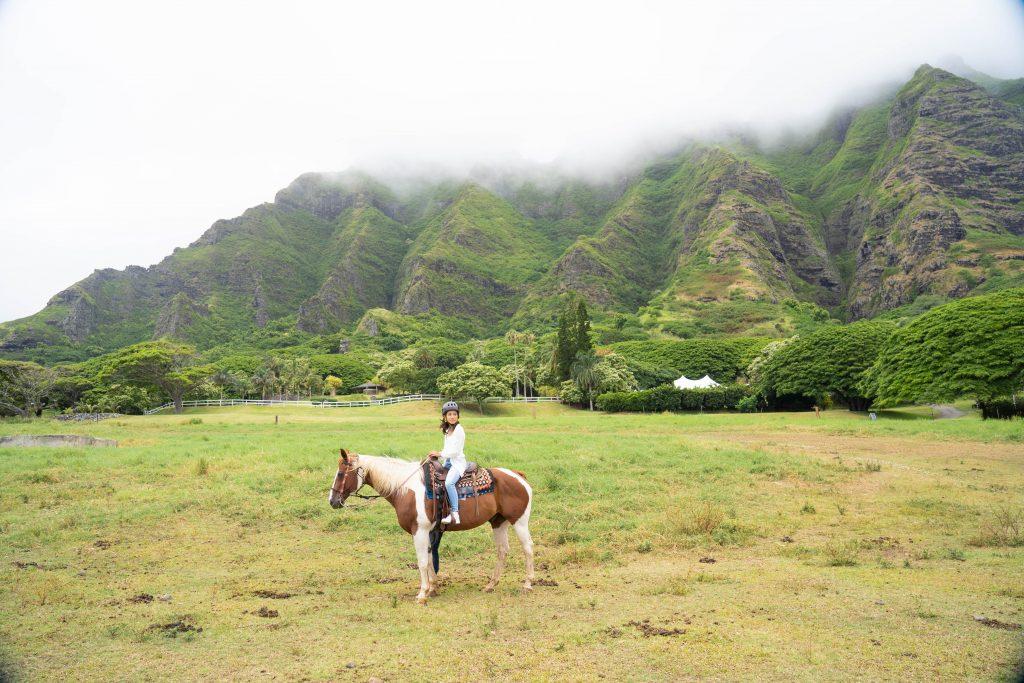 ハワイ おすすめ 乗馬ツアー