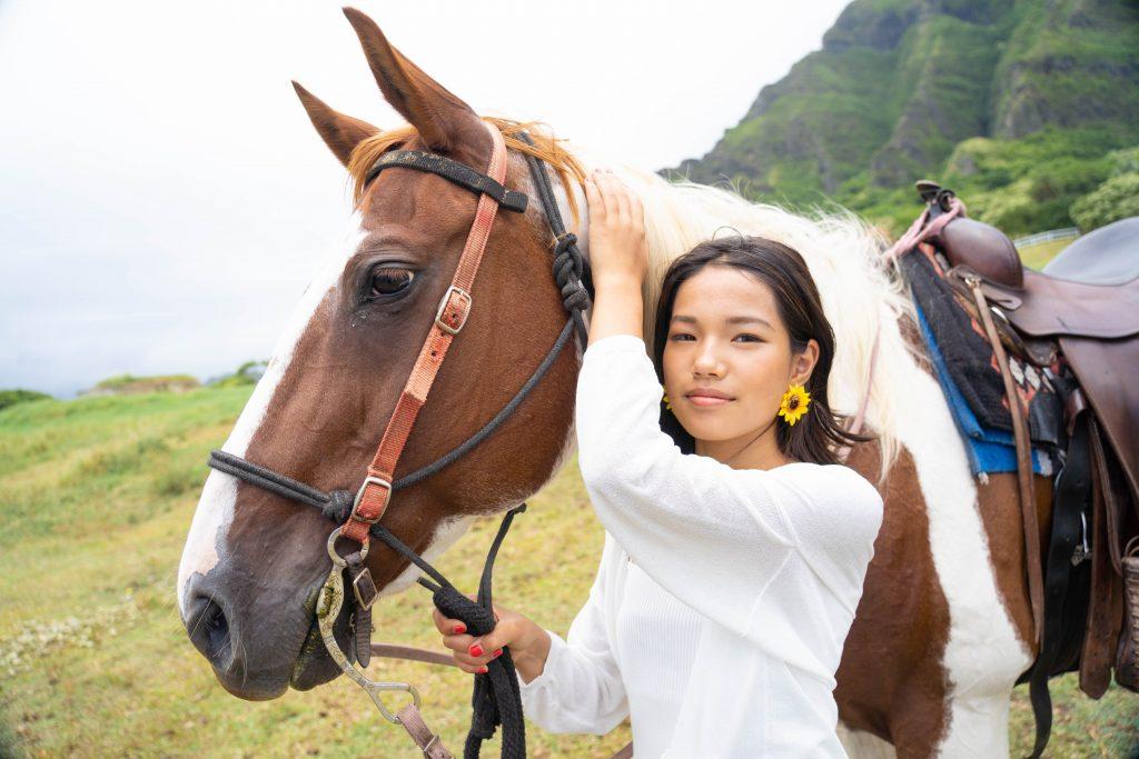 ハワイ モデル 撮影