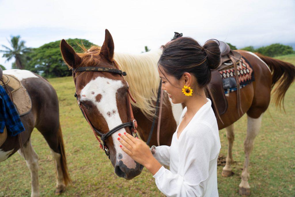 ハワイ プライベート乗馬