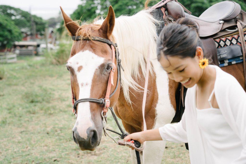 ハワイ限定 プライベート乗馬