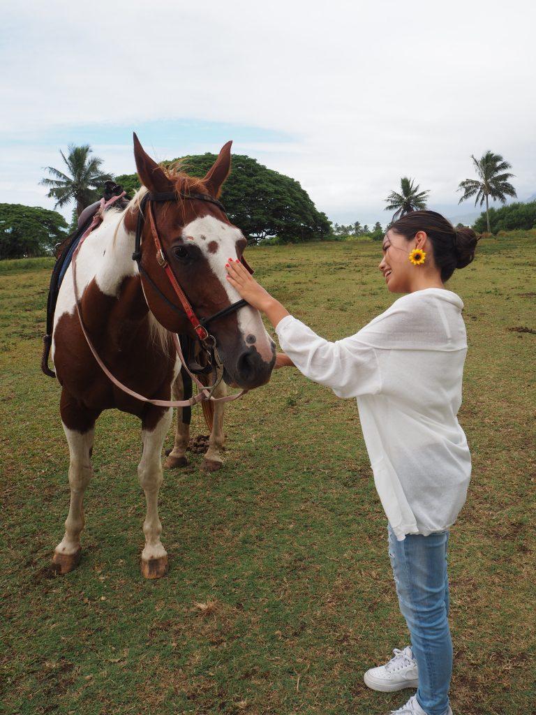 ハワイ 乗馬 プライベート