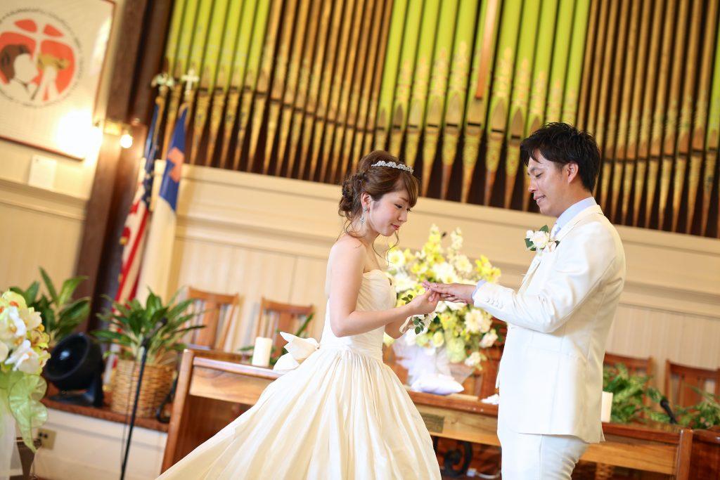 ハワイ 教会撮影 カウマカピリ教会