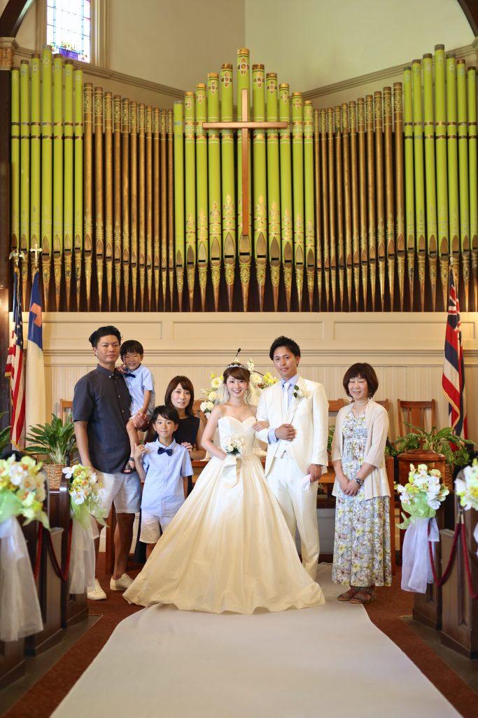 ハワイ 家族写真 撮影