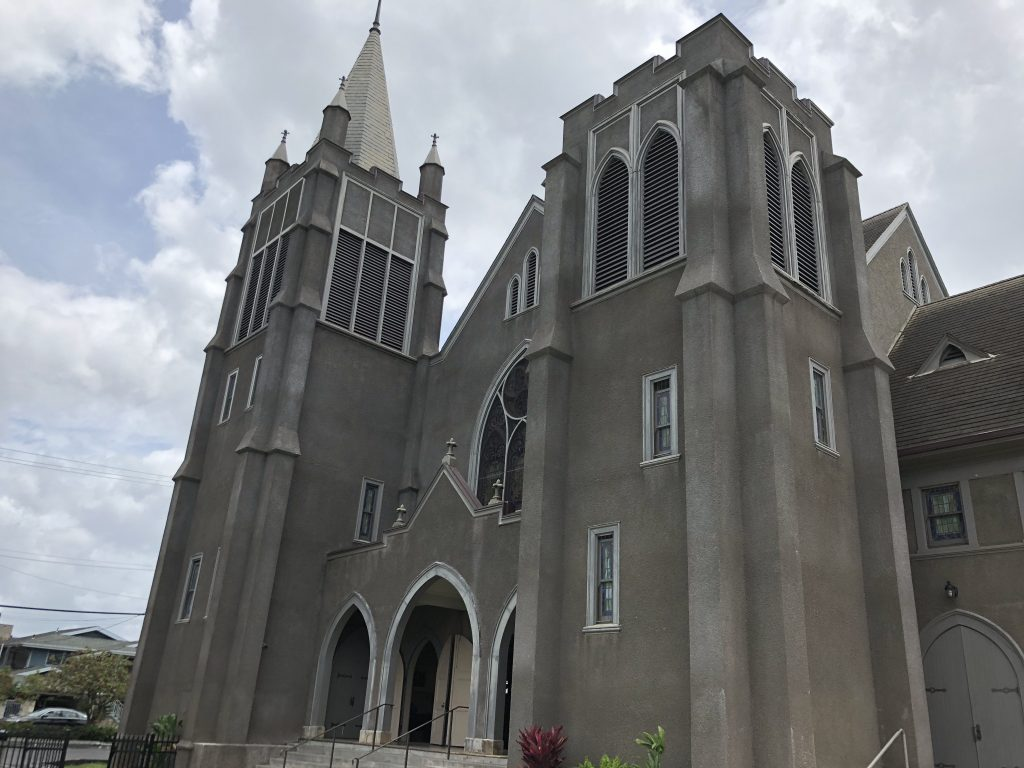カウマカピリ教会 撮影