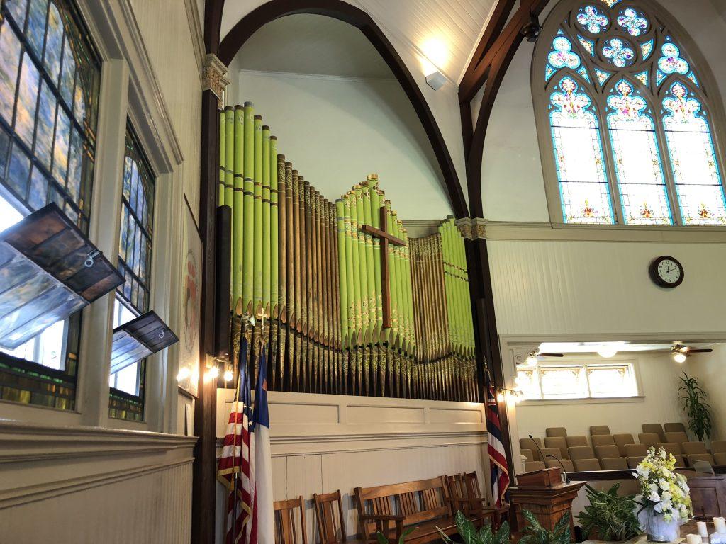ハワイ 教会 カウマカピリ教会
