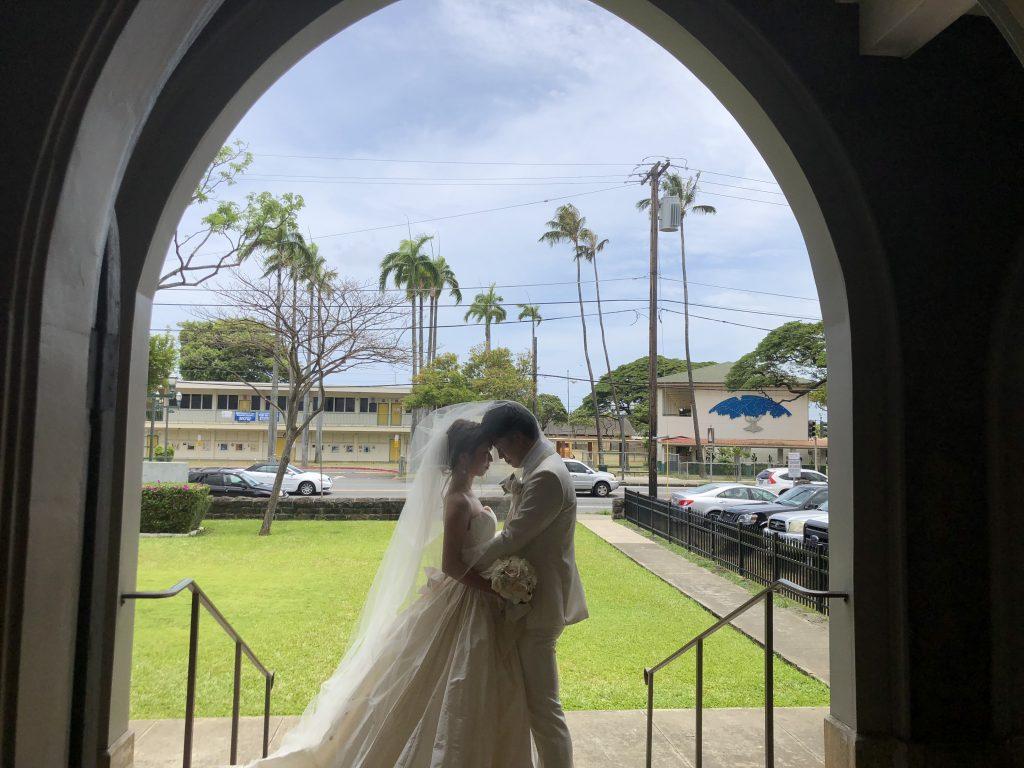 ハワイ 教会 撮影のみ