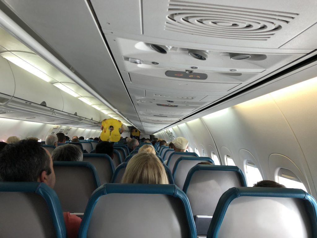 ハワイ島 飛行機