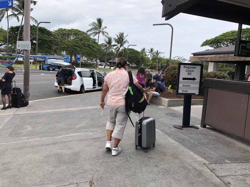 ハワイ島 旅行 空港