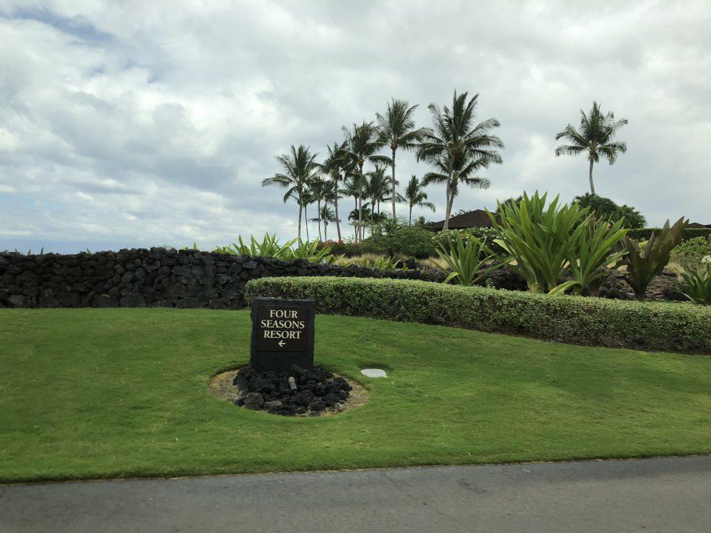 ハワイ島 フォーシーズンズホテルフアラライ 素敵
