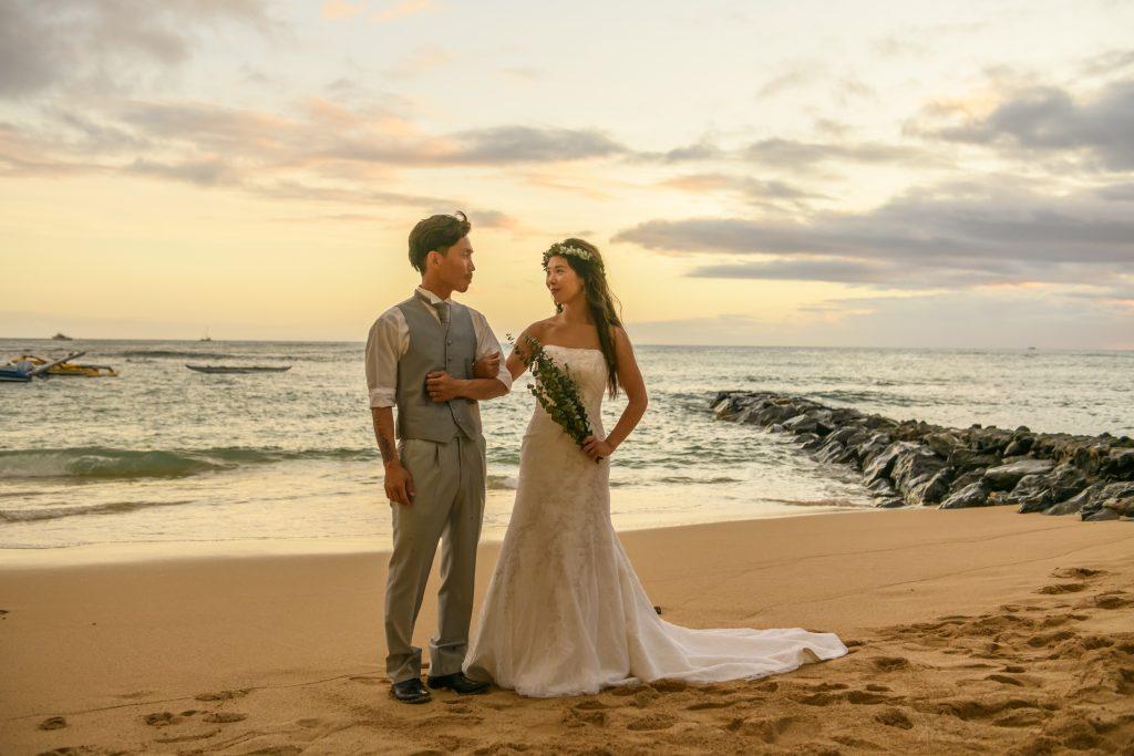 ハワイ Sunset 綺麗