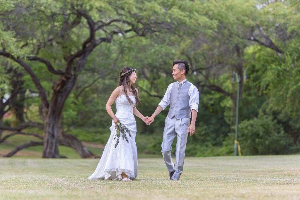 ハワイ フォトウェディング ドレス