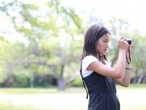 ハワイ カメラ女子 可愛い