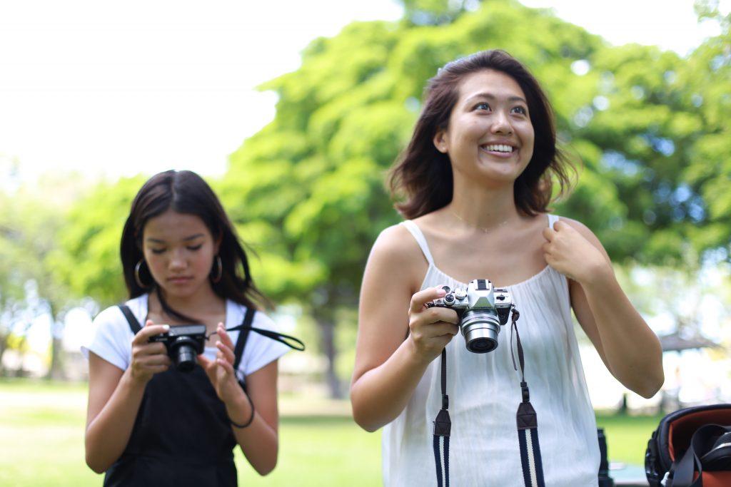 ハワイ カメラ撮影 教室