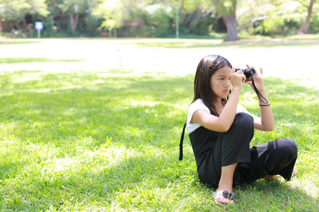 ハワイ カメラ カピオラニ公園