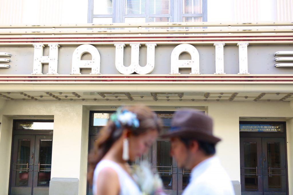ハワイシアター 撮影 AFLOAT Hawaii Photo