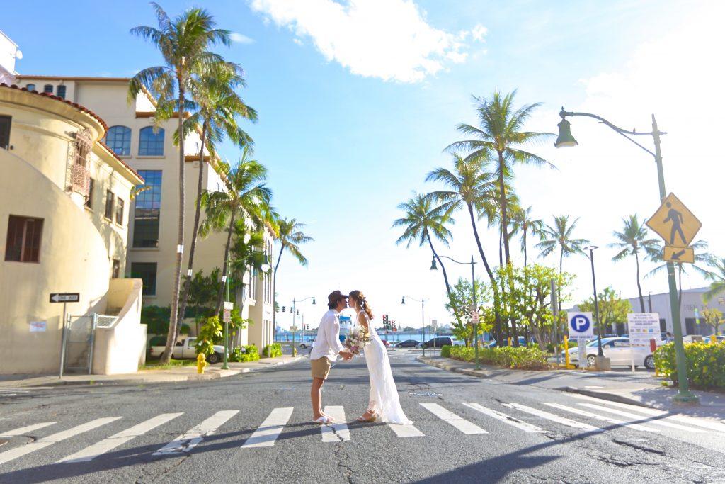 ハワイ お洒落 フォトウェディング