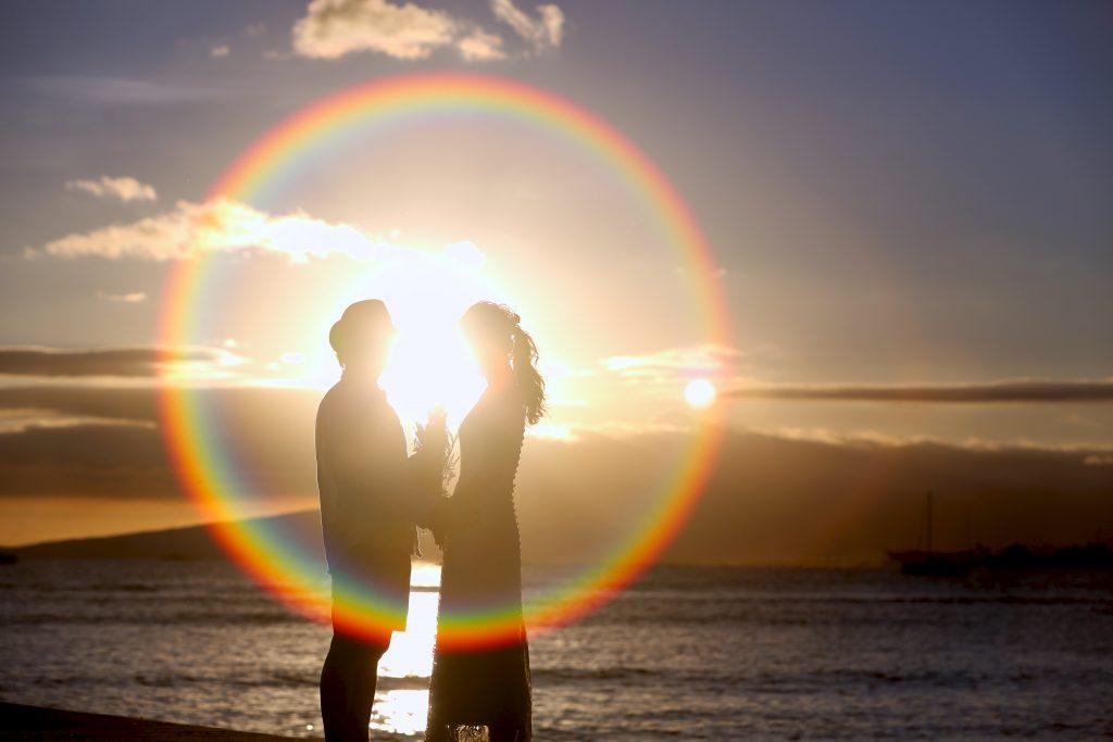 hawaii couple photo shooting