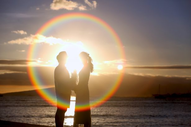 hawaii couple photo shooting