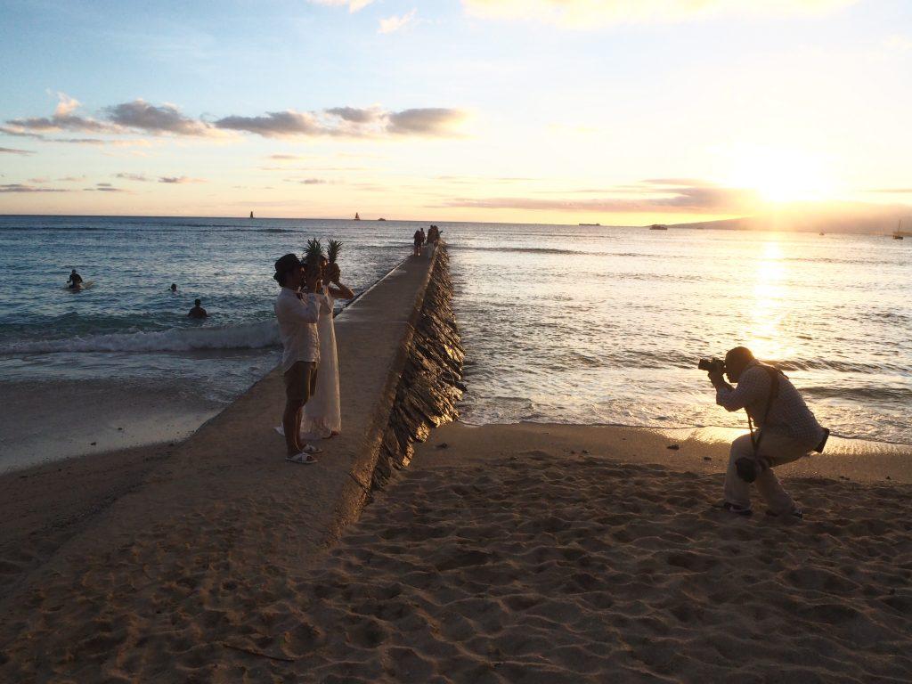 ハワイ サンセット撮影 フォトツアー