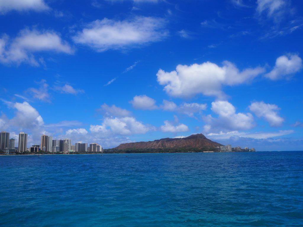 ハワイ ダイアモンドヘッド 絶景